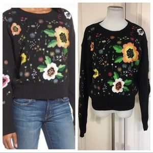 RD Style Embroidered Sweater